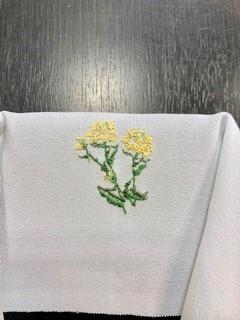 菜の花衣紋